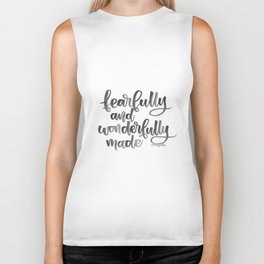 Fearfully and Wonderfully Made Biker Tank