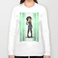 charlie Long Sleeve T-shirts featuring Charlie by Thedustyphoenix