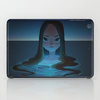 siren iPad Cases featuring siren by miova