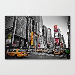 Times Square - Hyper Drop Canvas Print