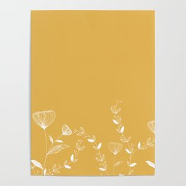 Minimal Floral Poster