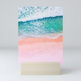 Pink Sands Turquoise Water Caribbean Dream Mini Art Print