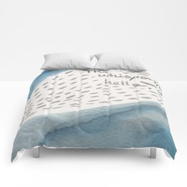 The lost blue Comforters