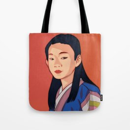 Side-look Tote Bag