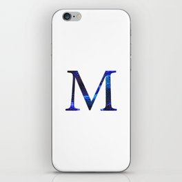 "Initial letter ""M"" iPhone Skin"