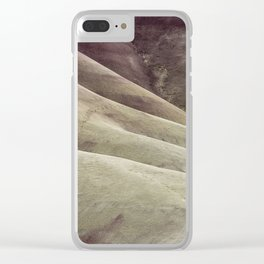 Hills as Canvas, No. 1 Clear iPhone Case