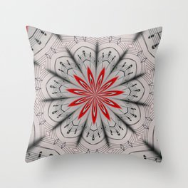 Our Tune Abstract Throw Pillow