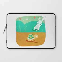 The Hare and the Tortoise Laptop Sleeve