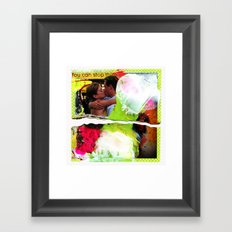 all in your head Framed Art Print