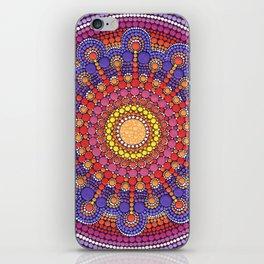 Jewel Drop Mandala iPhone Skin