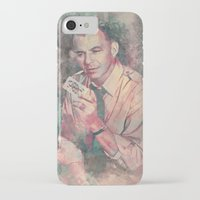 frank sinatra iPhone & iPod Cases featuring Frank Sinatra by Nechifor Ionut
