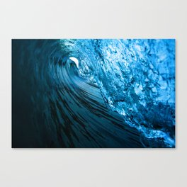 Little Blue Canvas Print