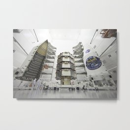 258. Magnetospheric Multiscale Observatories Processed for Launch  Metal Print