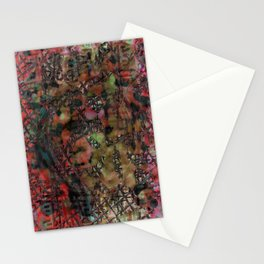 Fenêtre et mousse Stationery Cards