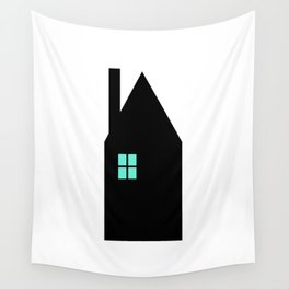 The House With The Turquoise Light On No.1 Wall Tapestry