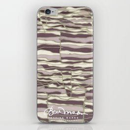 SILVER TECHNO iPhone Skin