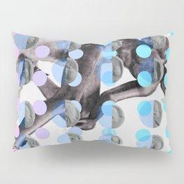 Statue With A Dot Gradient 2 Pillow Sham