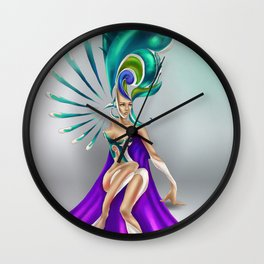 Illyrian queen Wall Clock