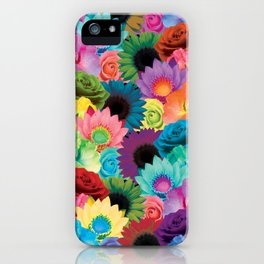 Flower Avalanche iPhone Case