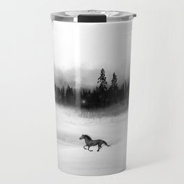 Soloveï, inspired by the Bear and the Nightingale, Russian Folklore Travel Mug