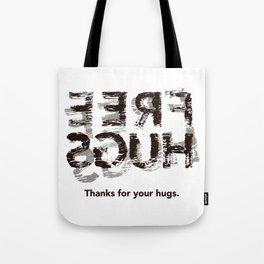 Hug back Tote Bag