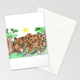 Indian Leopard Stationery Cards