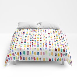 A brush of color Comforters