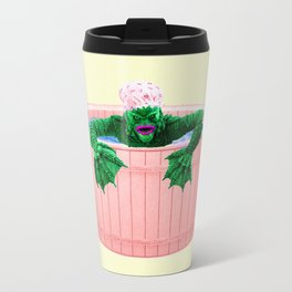 Black Lagoon Monster In Hot Tub Travel Mug