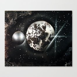 The Other Side of the MOON Canvas Print