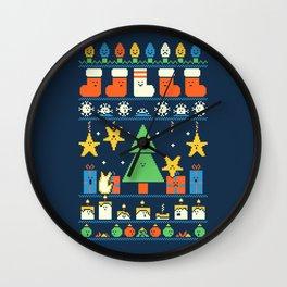 Merry Christmess Wall Clock