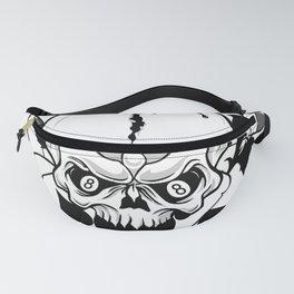 Wicked skull art, Custom gift design Fanny Pack