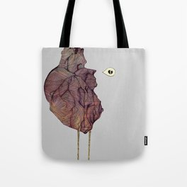 This is not a colorful heart Tote Bag