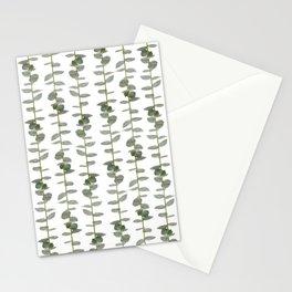 Eucalptus Branches - Naural Botanic Patterns Stationery Cards