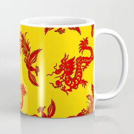 Phoenix Dragon Feng Shui Coffee Mug
