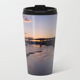 Golden Sunset Travel Mug