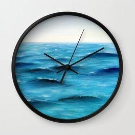 Slowly, gently Wall Clock