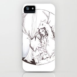 Huntress iPhone Case