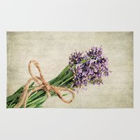 lavender Area & Throw Rugs featuring Lavender by ThePhotoGuyDarren