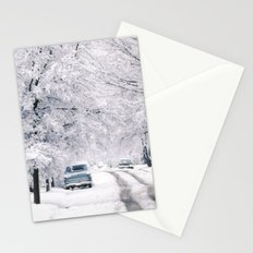 Winter on Beechwood Lane Stationery Cards