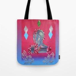 Crystallization Tote Bag
