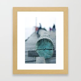 Line Framed Art Print