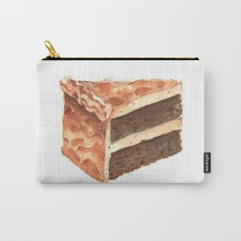 Chocolate Cake Slice Carry-All Pouch