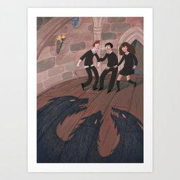 The Trap Door Art Print