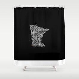 State Secrets - Minneota Shower Curtain