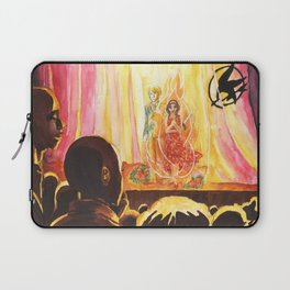Catching Fire Laptop Sleeve