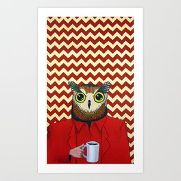 The Owls Are Not What They Seem (unframed) Art Print