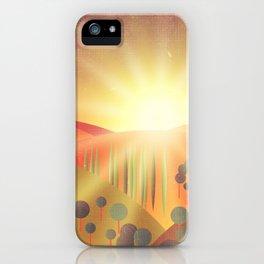Soleil Levant iPhone Case