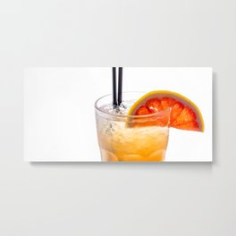 cocktail Metal Print