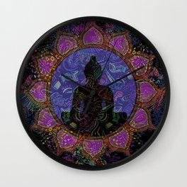 Buddha in Spirits Wall Clock