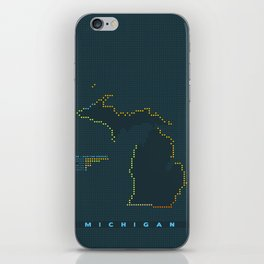 MDOT - Michigan Land & Maritime Borders iPhone Skin
